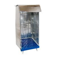Rolcontainerhoes isotherm 820x730x1475mm