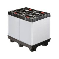 Palletbox inklapbaar 810x612x765mm - kunststof