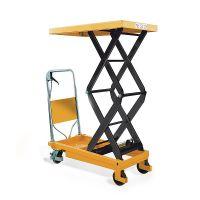 Schaarheftafel  350 kg 910x500 mm - verrijdbaar