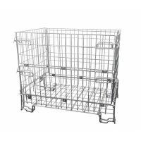 Inklapbare metalen draadcontainer 1200x800x1000mm - verzinkt