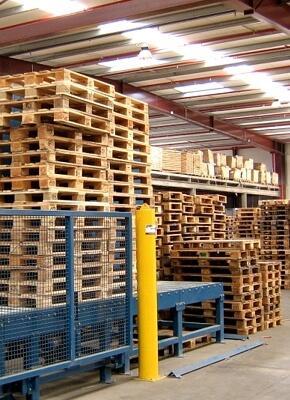 Euro houten palletreparatie - bespaar kosten