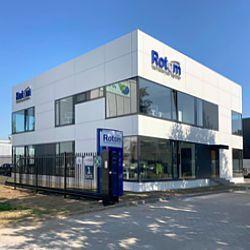 Nieuw kantoor Rotom Nederland in Maasbracht