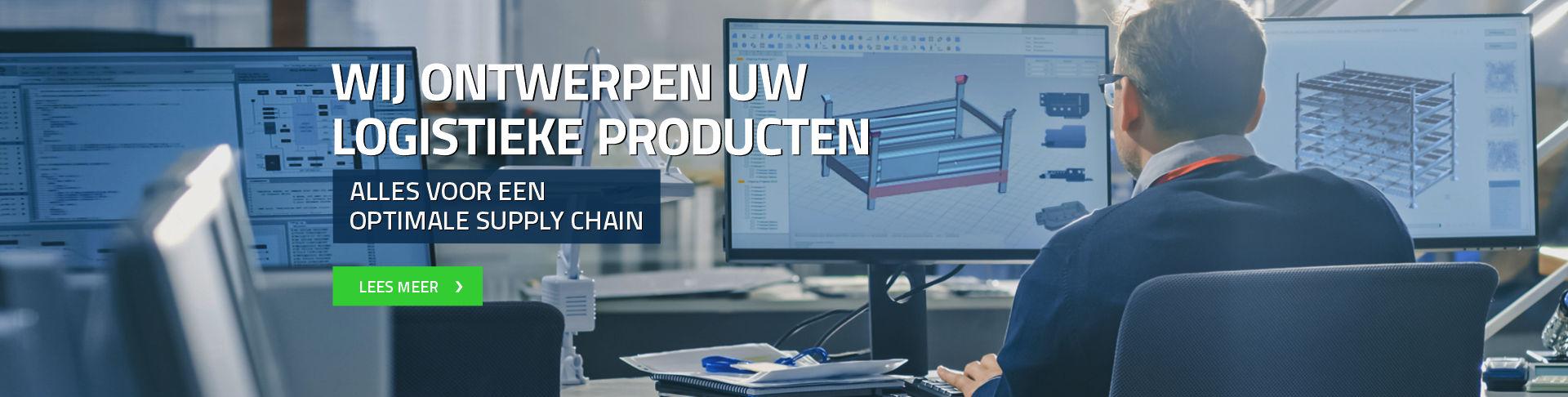 Wij ontwerpen uw logistieke producten alles voor een optimale supply chain